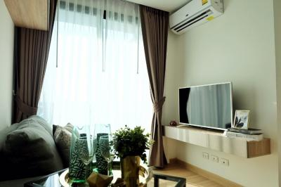 For SaleCondoKasetsart, Ratchayothin : Sell the most beautiful 1 bedroom in the Condo Condo Chateau In Town Phahonyothin 32 / fully furnished / only sell for 2.05 million baht / Near Major Ratchayothin SCB Headquarters, Kasetsart University, BTS Senanikom Station (P1855)