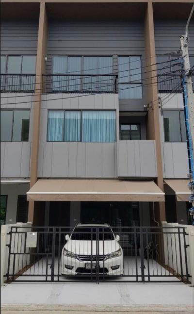 For RentTownhouseRama5, Ratchapruek, Bangkruai : Beautiful new town house for rent near The Walk, Ratchaphruek Rd.