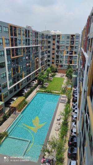 For RentCondoLadkrabang, Suwannaphum Airport : For Rent ICO Condo Sukhumvit 77 Phase 2, Building A, 7th Floor