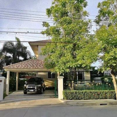 เช่าบ้านลาดกระบัง สุวรรณภูมิ : RH241ให้เช่าบ้านเดี่ยว บ้านตัวอย่าง ศุภลัย สวนหลวง ถนนเฉลิมพระเกียรติ ร. 9