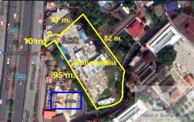 ขายที่ดินบางใหญ่ บางบัวทอง ไทรน้อย : ที่ดินเปล่า 3-0-89.4 ไร่ ติดถนนราชพฤกษ์