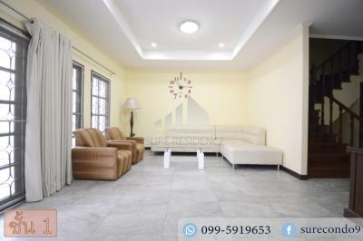 For SaleTownhouseLadprao, Central Ladprao : 0034-A😊😍 For RENT&SELL ให้เช่า&ขาย ทาวน์เฮ้าส์ 3 ชั้น,🚪6 ห้องนอน🚄ใกล้ MRT สุทธิสาร🔔พื้นที่บ้าน:30.00ตร.วา🔔พื้นที่ใช้สอย:240.00ตร.ม.💲เช่า:40,000฿💲ขาย:6,500,000฿📞O99-5919653✅LineID:@sureresidence