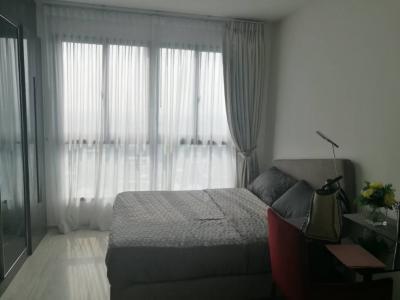 For RentCondoBangna, Lasalle, Bearing : Urgent rent, luxury decorated condo, good price, rent only 11,000 baht