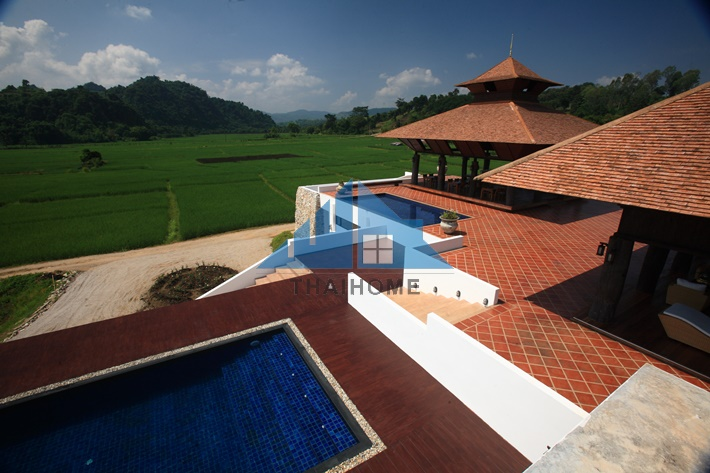 For SaleBusinesses for saleChiang Mai, Chiang Rai : 4-star luxury resort, 48-1-5 Rai, up to Doi Mae Salong, surrounded by mountains. Very beautiful. Investment in Mae Chan District, Chiang Rai. Price negotiable.