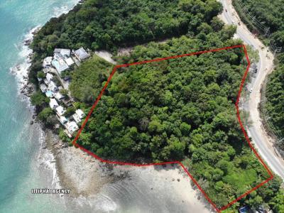 ขายที่ดินภูเก็ต ป่าตอง : ขายที่ดิน หาดกมลา ภูเก็ต10-0-99ไร่ ติดหาดและติดถนนหน้ากว้าง