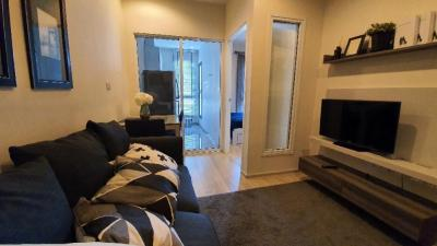 For SaleCondoRatchadapisek, Huaikwang, Suttisan : Quick sale 1 bedroom fully furnished condo near the subway