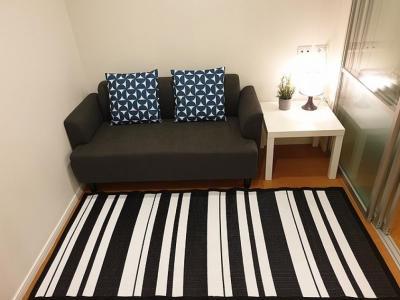 เช่าคอนโดบางนา แบริ่ง : ปล่อยเช่า ราคาสุดคุ้ม++คอนโด ลุมพินี เมกะซิตี้ 1 ห้องนอน ตกแต่งครบ เก็บกระเป๋าเข้าอยู่ได้ทันที ทำเลดี ติดถนนใหญ่ ใกล้เมกาบางนา IKEA