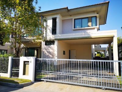 ขายบ้านแจ้งวัฒนะ เมืองทอง : ขายบ้านเดี่ยว 2 ชั้น ม.สราญสิริ ติวานนท์ แจ้งวัฒนะ 1 (Saransiri Tiwanon-Chaengwattana 1) ขนาด 59.8 ตร.ว.