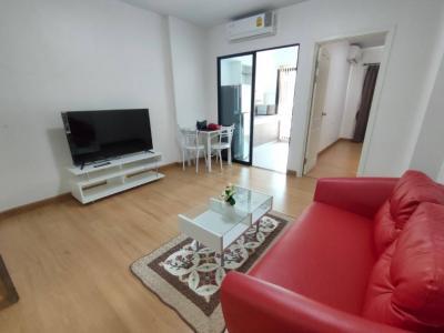 For SaleCondoBangna, Lasalle, Bearing : Condo Supalai City Resort Bearing Station (Sukhumvit105) 1 Bedroom. 40.5 sqm. 7th floor. for Sell.