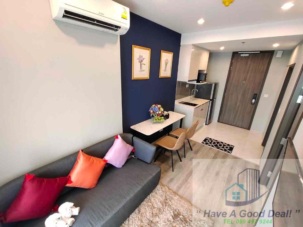 For SaleCondoOnnut, Udomsuk : 35 sqm. Condominium, 24th floor, IDEO Mobi condo, Sukhumvit 66