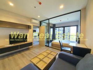 For RentCondoRattanathibet, Sanambinna : politan rive, 44th floor, 31 sq.m., river view, fully furnished, high floor, beautiful view