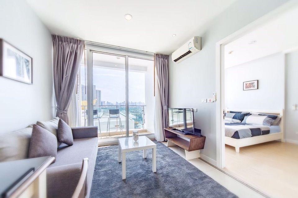 For RentCondoRama9, Petchburi, RCA : Condo for rent at TC Green, Rama 9, near Mrt Rama 9 - 1 bedroom, 1 bathroom - 40 sq. M - 29th floor