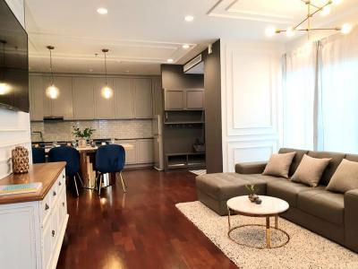For RentCondoSukhumvit, Asoke, Thonglor : 2 Beds completely renovation unit for rent & sale