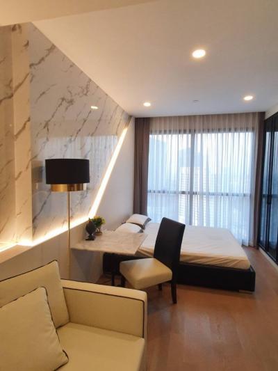 เช่าคอนโดสยาม จุฬา สามย่าน : For Rent Ashton Chula- Silom 180 M. From MRT Samyan Rent 22K