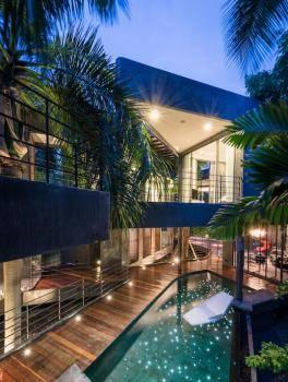 เช่าบ้านสุขุมวิท อโศก ทองหล่อ : Phrom Phong House of Gray - Luxurious and Unique Pool Villa, Near BTS Phomphong