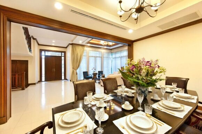 เช่าบ้านสาทร นราธิวาส : ให้เช่า For rent บ้านเดี่ยว L&H villa นราธิวาส 4นอน