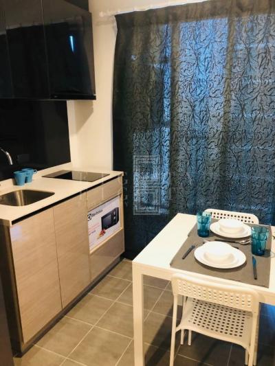 เช่าคอนโดพระราม 9 เพชรบุรีตัดใหม่ : For Rent THE BASE Garden-Rama 9 (32 sqm.)
