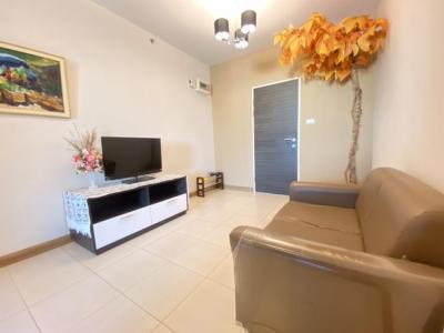 For RentCondoRamkhamhaeng, Hua Mak : Condo for rent, Supalai CITY RESORT Ramkhamhaeng 46 sqm. Building A, Floor 12A, Bedroom partition 9,000 baht