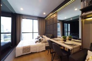 For RentCondoSiam Paragon ,Chulalongkorn,Samyan : New room for sale Ashton Chula-Silom (fully furnish) Ashton chula-silom garden view 1 bedroom 30.5 sqm 7.55 million baht cheapest in the building Mrt Samyan 0626562896 Ray line: fritolay