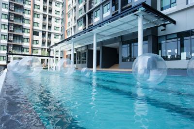 For SaleCondoRama9, RCA, Petchaburi : Life Asoke 2 bedrooms 55.08 sq.m. ** Ready to move in **