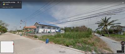 ขายที่ดินนครปฐม พุทธมณฑล ศาลายา : ขายด่วนที่ดิน 50 ตร.วา เพียง 25,000 บาท/ตร.วา หมู่บ้านสมพงษ์ ศาลายา คลองโยง