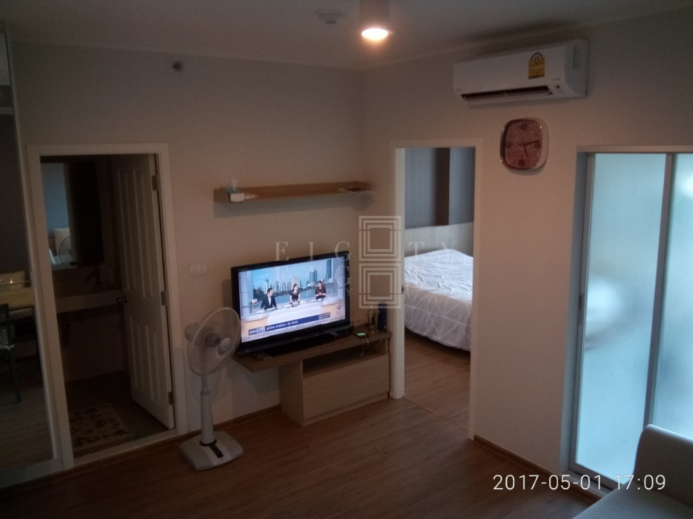 For RentCondoThaphra, Wutthakat : For Rent U Delight @ Talatphlu Station (30.5 sqm.)