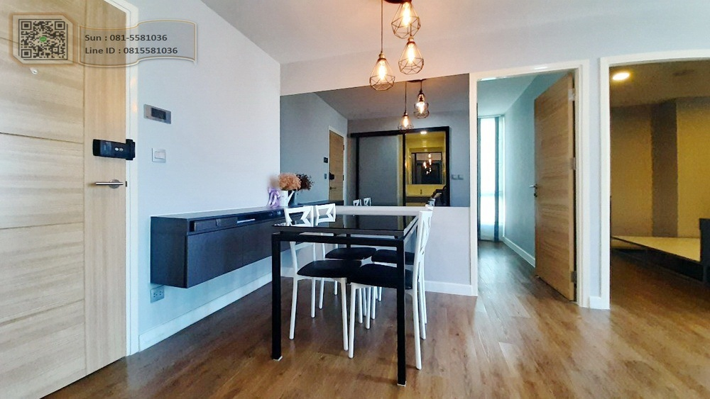 For SaleCondoNawamin, Ramindra : For sale Esta Bliss Condo - Ram Inthra (For Sell Esta Bliss), near BTS Sethabut Bamphen, 46.27 square meters, 5th floor, east view, 2 bedrooms, 1 bathroom, 1 kitchen.