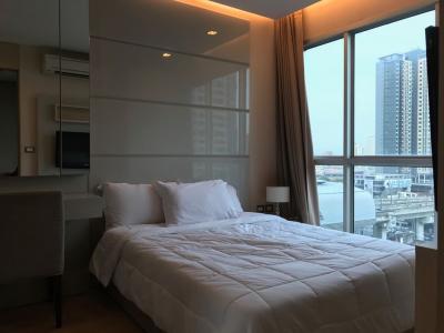 For RentCondoRama9, RCA, Petchaburi : For Rent The Address Asoke Cheap price near BTS Petchburi