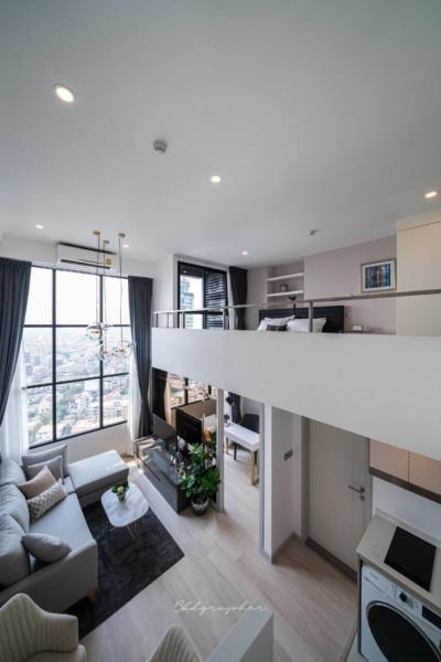For RentCondoSathorn, Narathiwat : For rent condo knights bridge prime Sathorn duplex room floor 30