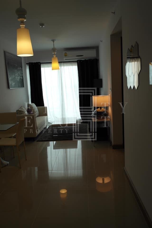 เช่าคอนโดวงเวียนใหญ่ เจริญนคร : For Rent Supalai River Resort (53 sqm.)