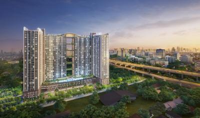 ขายคอนโดพระราม 9 เพชรบุรีตัดใหม่ : ขายด่วน!!! คอนโดใหม่ พร้อมเข้าอยู่ โครงการ ศุภาลัย เวอเรนด้า พระราม 9 ชั้น 6 วิวสระ สวนส่วนกลาง เจ้าของขายเอง