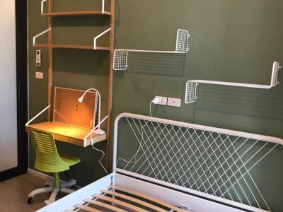 เช่าคอนโดวิภาวดี ดอนเมือง : เช่าคอนโด2ห้องนอน ชั้นสูง ใหม่มาก แต่งสวย พร้อมเข้าอยู่ ราคาถูก