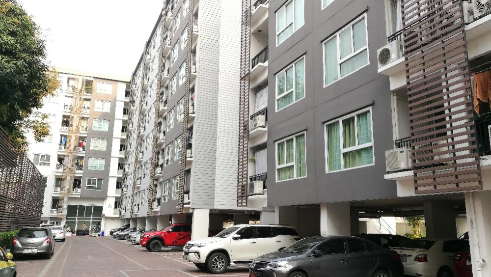 For SaleCondoBang Sue, Wong Sawang : For Sale, Corner room, 31.26 sqm., 5th floor, not blocked. View, fully furnished, electric and furniture.