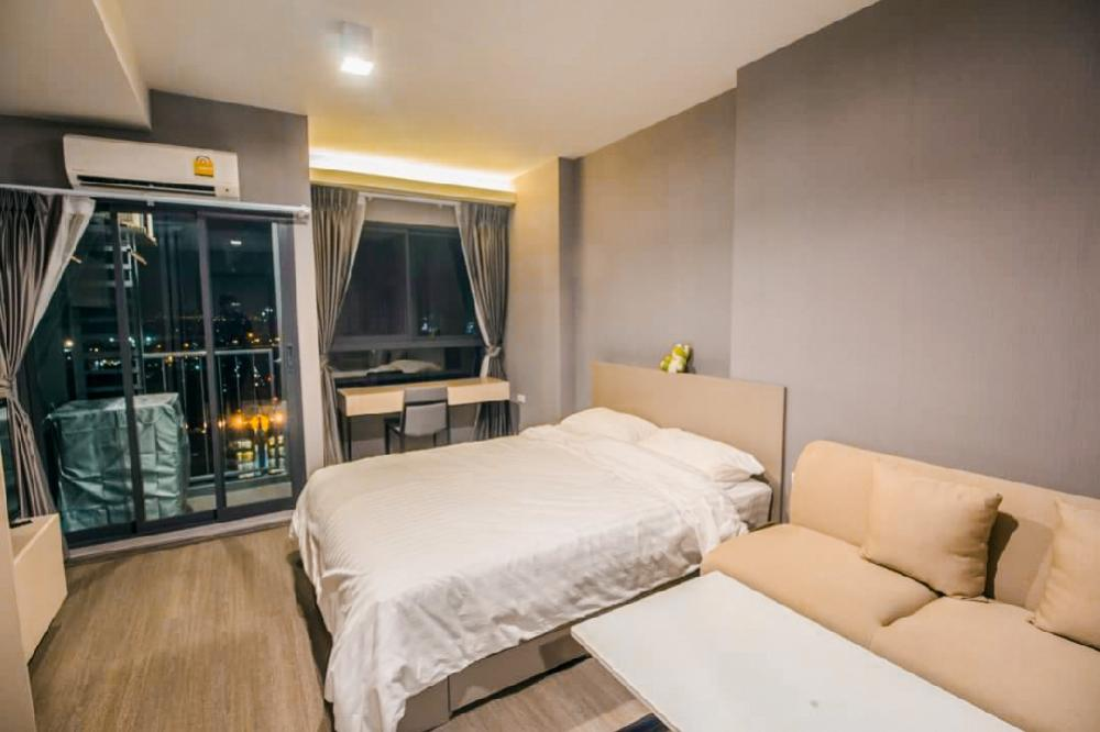 For RentCondoOnnut, Udomsuk : The cheapest condo for rent‼ Ideo Sukhumvit 93, Ideo Sukhumvit 93, near BTS Bang Chak, 27th floor, beautiful room, ready to move in