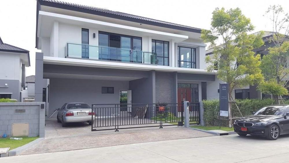 เช่าบ้านบางนา แบริ่ง : ให้เช่าบ้านเดี่ยว หลังหรู น่าอยู่ ตกแต่งดีมาก 4 ห้องนอน the city bangna เดอะซิตี้ บางนากม.7 the city bangna เดอะซิตี้ บางนากม.7 ขนาด 85 ตรว พื้นที่ใช้สอย 309 sqm ขนาด 4 นอน 4 น้ำ 1 ห้องแม่บ้าน