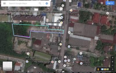 ขายที่ดินลาดพร้าว101 แฮปปี้แลนด์ : ขายที่ดิน 519 ตรว ลาดพร้าว 101 แยก 9 ห่างสถานี 650 เมตร
