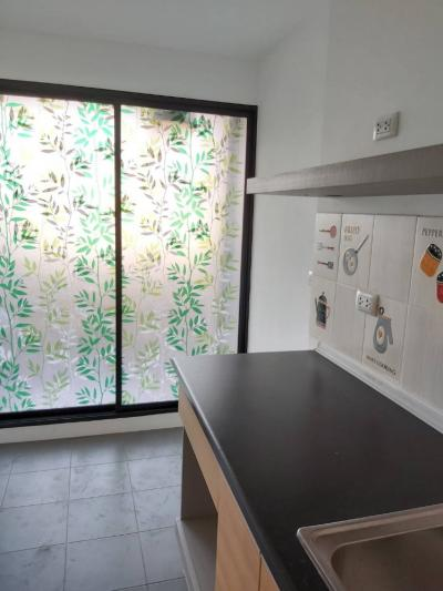 For RentCondoRangsit, Patumtani : For rent, The Excel Khukhot - Lam Luk Ka Canal 2, never rented Beautifully decorated, 28 sq.m.