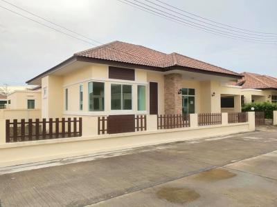 ขายบ้านพัทยา บางแสน ชลบุรี : 0076 บ้านพานาปาร์ค บ้านเดี่ยวชั้นเดียว 60 ตร.ว. น่าอยู่ ใกล้อมตะนครเฟส 9