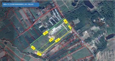 For SaleLandPattaya, Bangsaen, Chonburi : Land for sale 20 Rai, next to the road of Chor. 4082, Ban Bueng Sung, Chon Buri