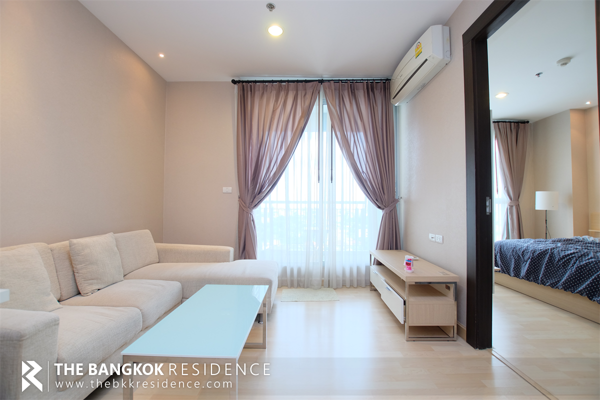 For SaleCondoRatchadapisek, Huaikwang, Suttisan : For Sale Rhythm Ratchada 46 Sqm 1 Bed 4,6000,000