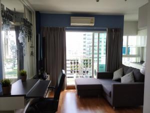 เช่าคอนโดพระราม 9 เพชรบุรีตัดใหม่ : -- For Rent (ให้เช่า)--  The Parkland Grand Asoke (1 Bedroom 35 sqm)  floor 22 facing south