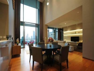 For RentCondoSathorn, Narathiwat : The Sukhothai Residences 209 Sq.m.; The ultimate luxury and duplex unit