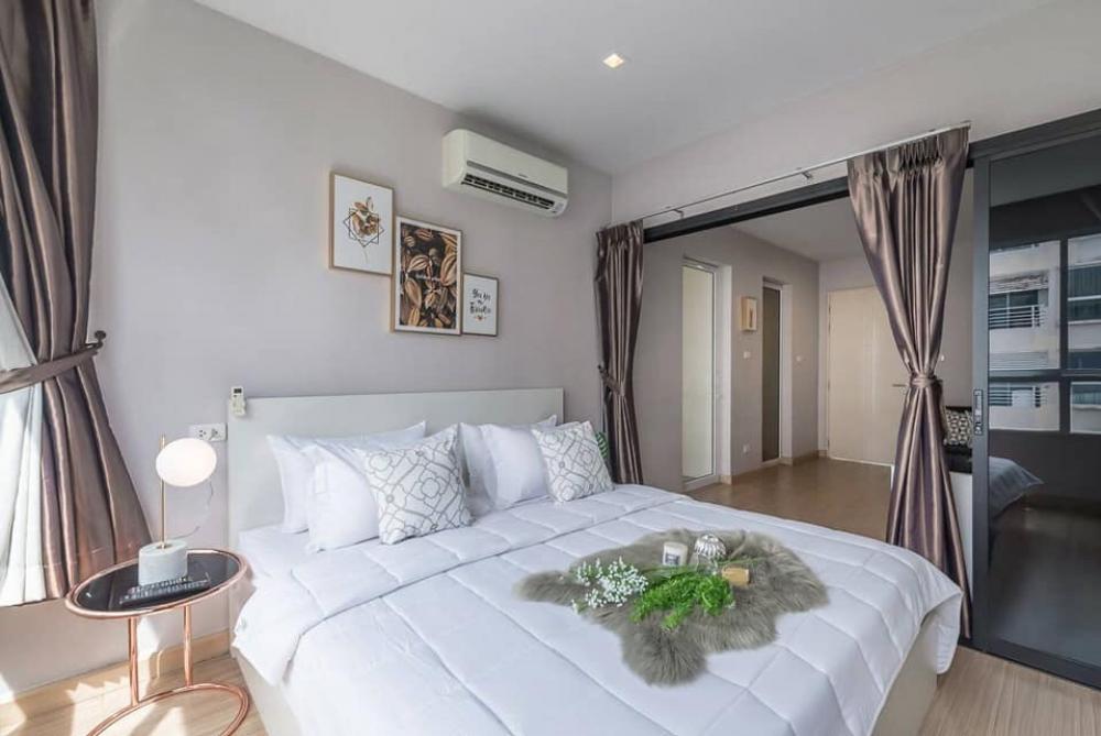 For RentCondoLadprao101, The Mall Bang Kapi : For rent, Happy Condo, Ladprao 101, Building D, Floor 5, size 36 sq.m.