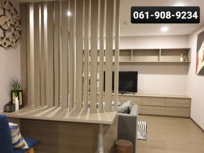 For RentCondoSiam Paragon ,Chulalongkorn,Samyan : Cheapest rent, KLASS SIAM, very nicely decorated, has a washing machine, 2 bedrooms, 2 bathrooms, 80 sq.m., 38,000 baht/month.