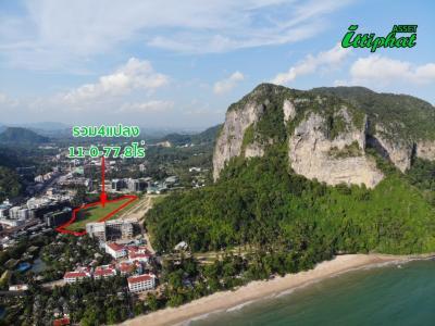 For SaleLandKrabi : Land reclamation and land near the sea. Heart of Ao Nang, Krabi