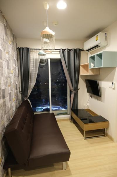 For SaleCondoThaphra, Wutthakat : Condo Bangkok-Horizon Ratchada-Thaphra (Bangkok Horizon Ratchada-Thaphra) Floor 23, Chao Phraya River view, room 27.18 sq.m., price 2,000,000 baht, fully furnished room. Ready to move in. Very good condition. Not expensive. Negotiable. Kind owner.