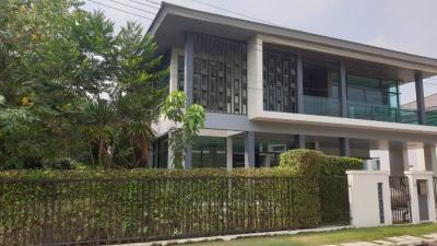 For SaleHouseLadkrabang, Suwannaphum Airport : House for sale, Setthasiri, Pattanakarn, corner home 123 Sq. 5 bedrooms, 5 bathrooms
