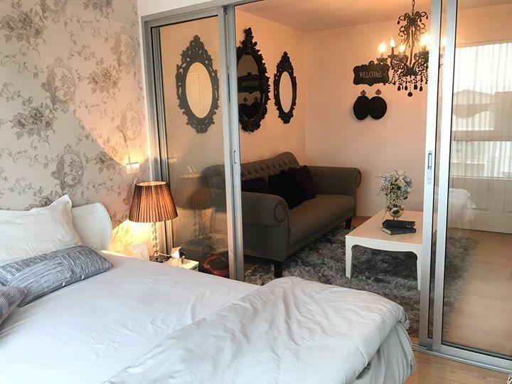 For SaleCondoBangbuathong, Sainoi : Sale D Condo Rattanathibet, new room, beautiful decoration, sample room level, fully furnished, 1.4 MB.