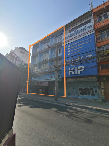 For SaleShophouseLadprao 48, Chokchai 4, Ladprao 71 : [[Sell below valuation price]] Commercial building, corner room, 4 floor, Ladprao 74