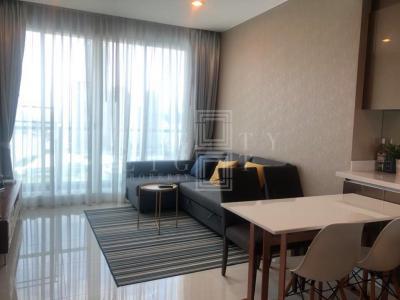 เช่าคอนโดพระราม 3 สาธุประดิษฐ์ : For Rent Menam Residences (52 sqm.)